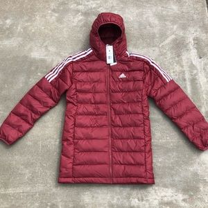 NWT Adidas Men's Essential Down Parka Jacket